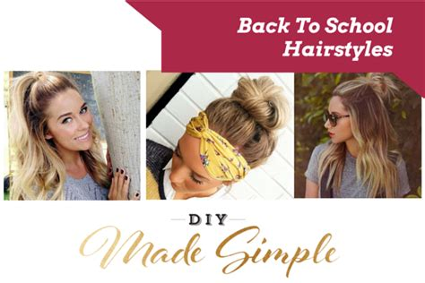 hairstyles back to school 2015 back to school hairstyles and discounts diy made simple