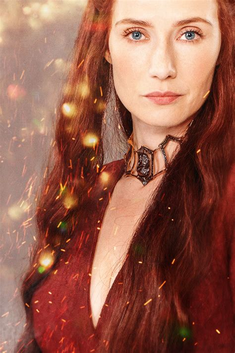 game of thrones actress red woman melisandre on tumblr