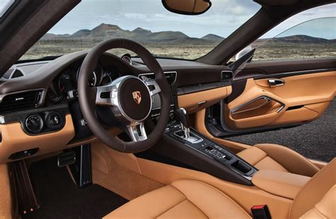 porsche 911 turbo s interior 2014 991 porsche 911 turbo and turbo s revealed official