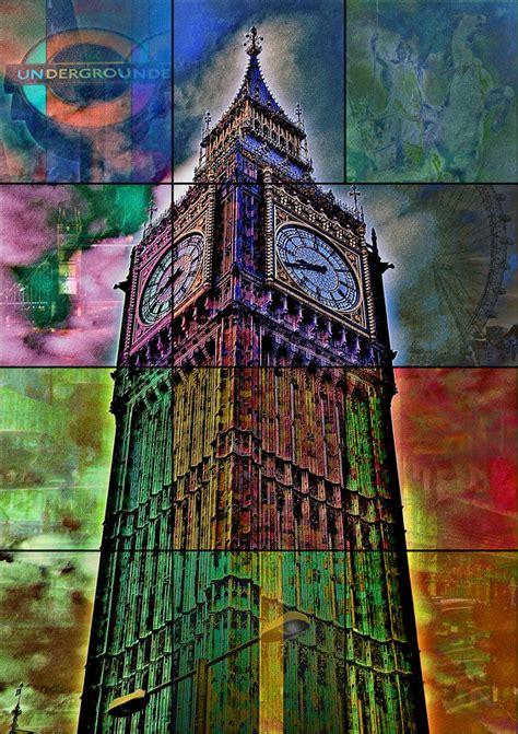 Lukisan Modern Big Ben big ben modern gallery