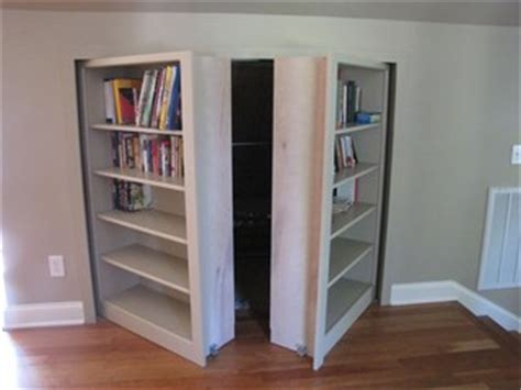 knee wall bookshelves with storage