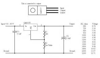 integrated thoughts how to make a variable power supply