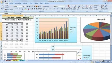 excel office setting  default chart type  creating