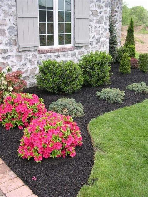 simple landscaping we need this out front the yard pinterest flower front yard