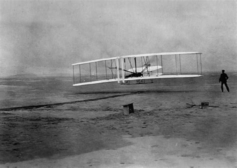 dec 17 1903 bicycle brothers make aeroplane work wright