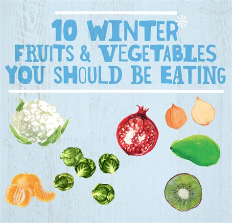 vegetables i should be 10 winter fruits vegetables you should be