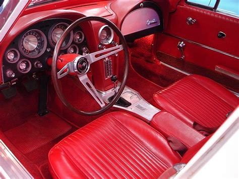 1963 Corvette Interior by Automotive History 1963 Corvette Sting Ravishing