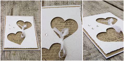 Hochzeitskarten Selber Basteln by Karten Selber Basteln Hochzeit Speyeder Net
