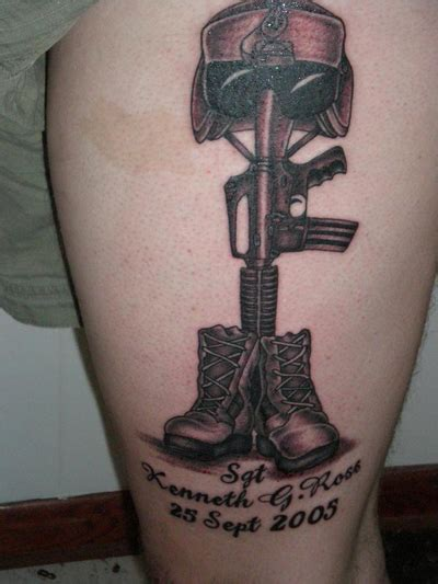 military tribute tattoo designs 25 amazing memorial designs