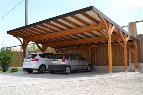 carport box auto legno lamellare prezzi lf arredo legno bologna tettoie posti auto carport