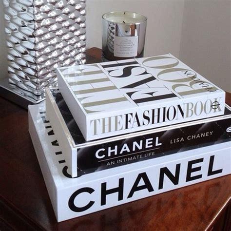 decorative coffee table books jewels chanel book fashion book home accessory