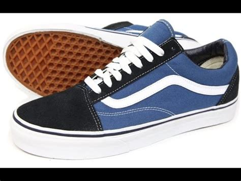 Vans Oldskool Navy Blue Premium vans skool navy