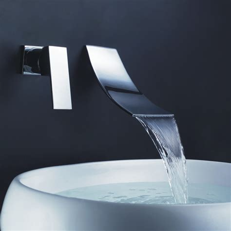 wall faucet for bathroom sink aliexpress com buy sprinkle waterfall faucet wall