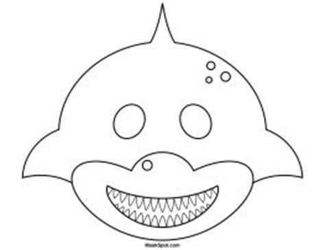 Shark Hat Craft Template by Best 25 Shark Mask Ideas On Shark Craft