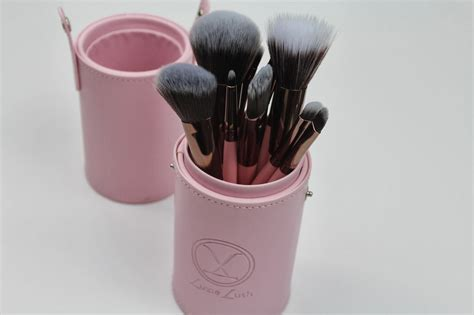 Luxie Pink Perfection Brush Holder moxie luxie brush review at look