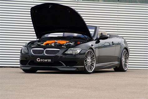bmw m6 drop top g power m6 hurricane drop top