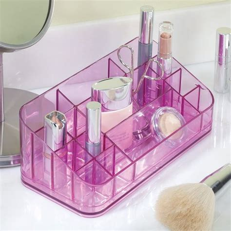 Vanity In Purple by Vanity Makeup Organizer Available In Pink Purple Or Blue