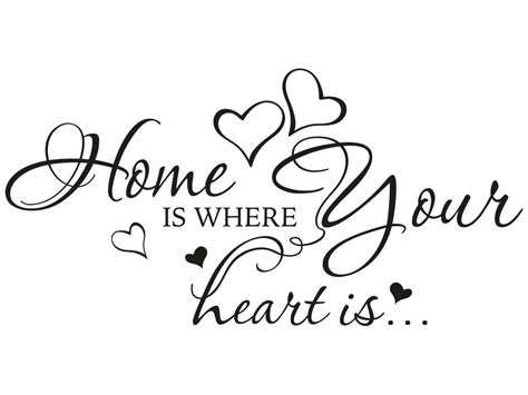 home is where the heart is tattoo wandtattoo home is where my is reuniecollegenoetsele