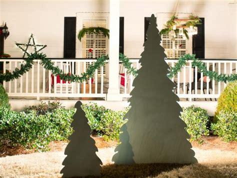 backlit wooden christmas tree hgtv