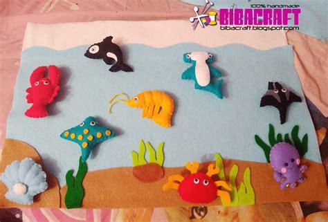 Flanel Board Papan Flanel biba craft collection media belajar anak yang unik dan