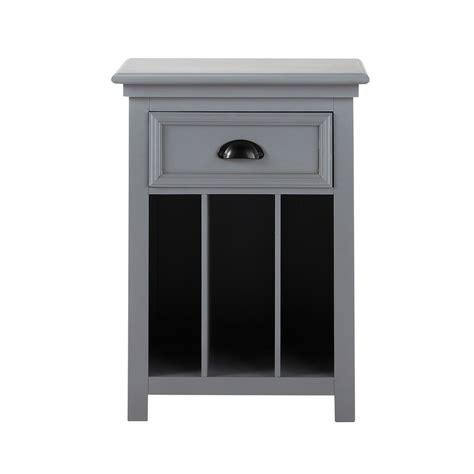 Merveilleux Table De Chevet Casa #8: Table-de-chevet-avec-tiroir-en-pin-gris-l-45-cm-newport-1000-16-7-139161_3.jpg