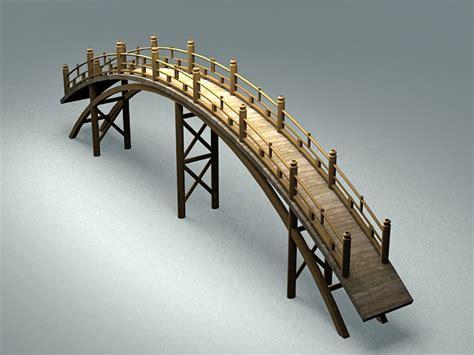 japanese garden bridge  model ds max files   modeling   cadnav
