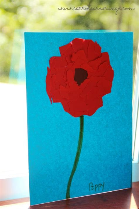 poppy crafts for memorial day craft for memorial day activities