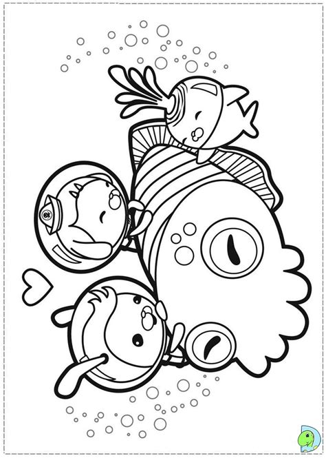 Gup S Coloring Page by Free Coloring Pages Of Octonauts Gup S