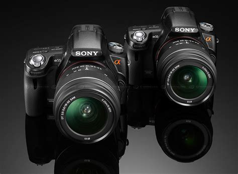 Kamera Sony Slt A55 sony unveils slt a55 and a33 with translucent mirror technology digital photography review