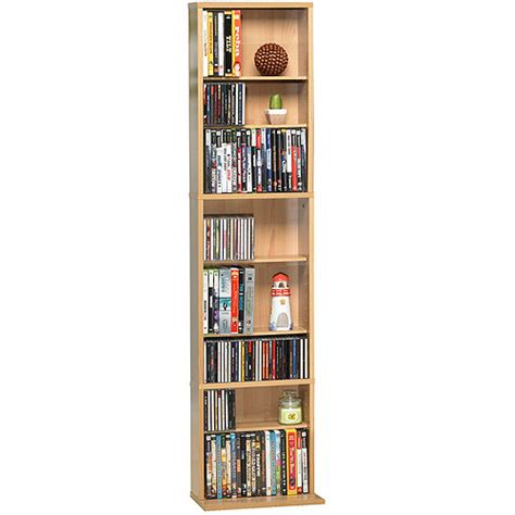 Walmart Dvd Cabinet by Atlantic Summit Media Storage Cabinet Maple Walmart