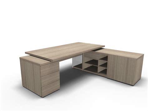 Schreibtisch Mit Viel Stauraum by Chef Schreibtisch Faro Mit Sideboard Und Container
