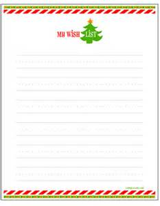 my wish list gift wish lists for free printable