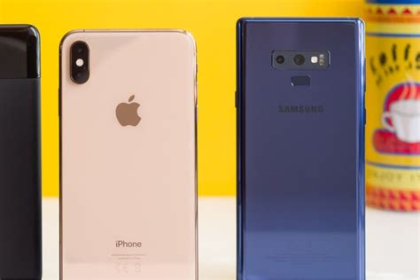 iphone xs max or galaxy note 9 which one would you buy phonearena