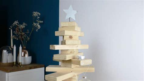 weihnachtsbaum aus holz selber bauen holz weihnachtsbaum selber machen