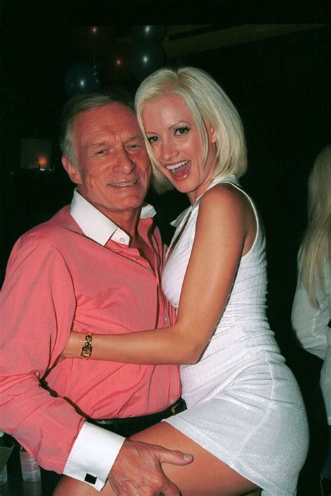 Hugh Hefner And On Baby Theres Been Lots Of Trying by Mansion Misery Exposes Shocking Reasons She