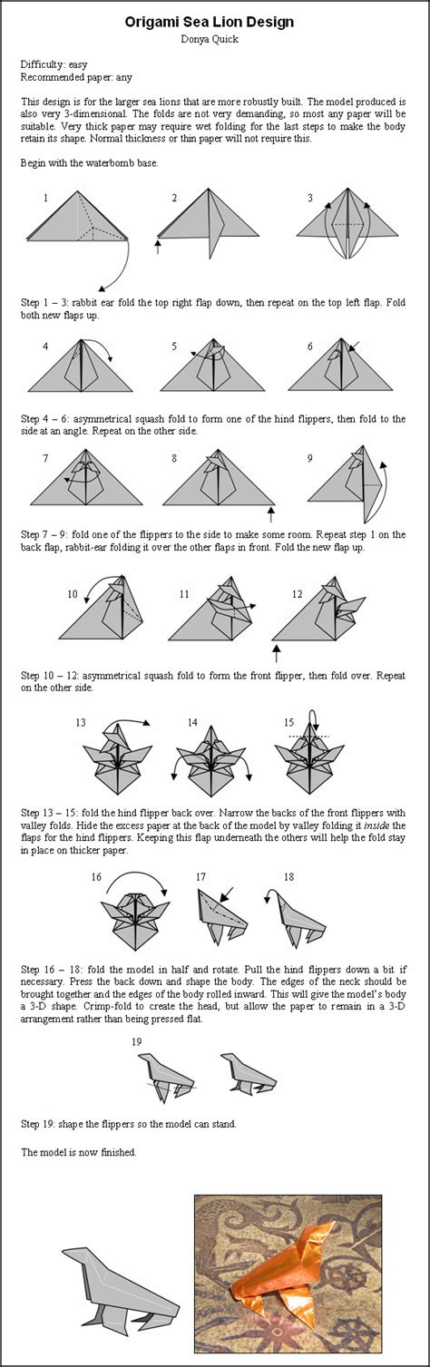 How To Make Origami Sea Animals - origami sea by donyaquick on deviantart