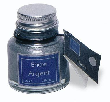 Ac 6353 Silver metallic tinte 30ml in 4 farben kalligraphie shop