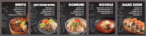 menu design vancouver case study a vancouver japanese restaurant menu lightbox