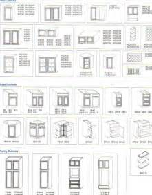 Standard Depth Of Kitchen Cabinets by Standard Cabinet Sizes Search Cabinet Spec
