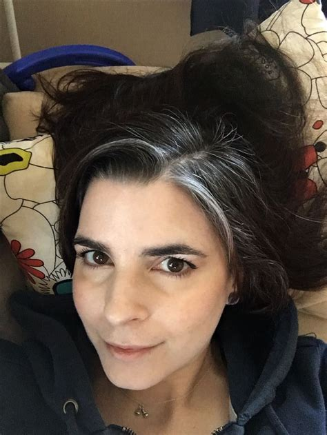 natural grey streak in hair natural grey streak in hair 1000 ideas about gray