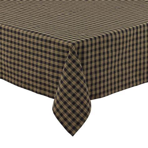 Black Sturbridge Tablecloth