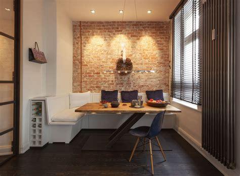 brick wall apartment cozy renovated apartment with rustic brick walls