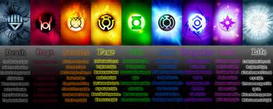lantern corps colors if you were in a lantern corps what corps would you