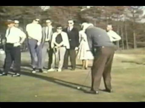 byron nelson golf swing byron nelson golf swing in colour youtube