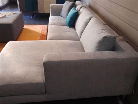rigo divani divano con penisola in tessuto etoile rigo salotti
