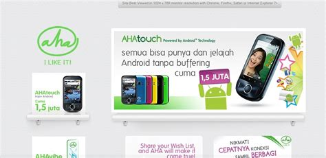 Hp Huawei C8150 ahatouch android phone from aha huawei ideos c8150 new gadget handphone laptop
