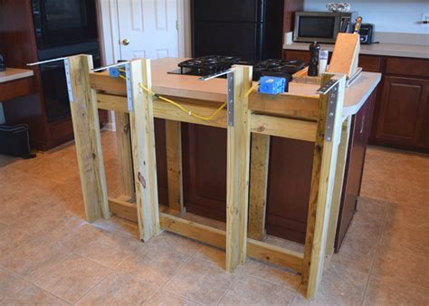 How To Build A Kitchen Island Bar Diy Kitchen Island Breakfast Bar Kitchen And Decor
