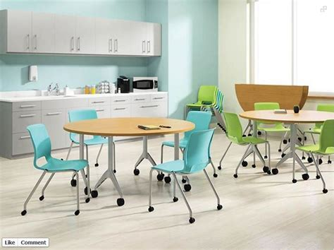 office lunchroom furniture colorful tables for office lunch room new office