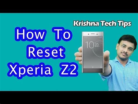 reset password xperia z2 sony xperia z2 hard reset how to unlock when you forgot
