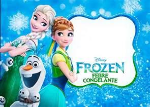 tarjetas y etiquetas frozen fiebre congelante princesas